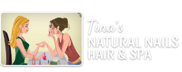 Tina's Natural Nails logo